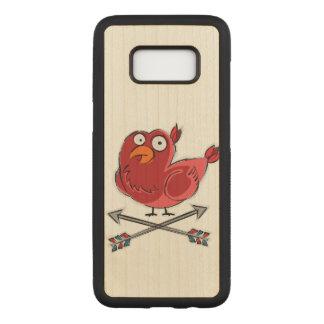 Little Birdie Illustration Carved Samsung Galaxy S8 Case