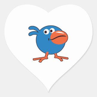 LITTLE BIRDIE HEART STICKERS