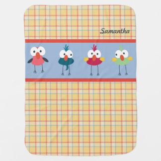 Little Birdies Baby Blanket