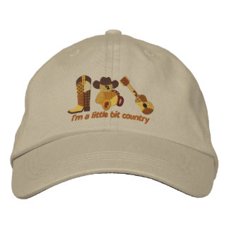 Little Bit Country Embroidered Hats