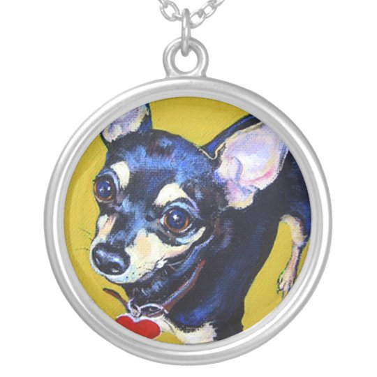 Little Bitty Chihuahua - Chihuahua Necklace