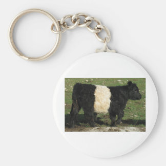Little Black Beltie Calf Key Ring
