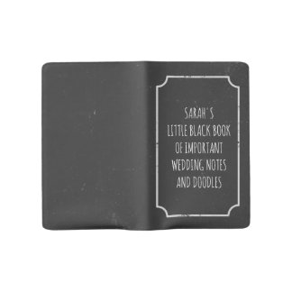 Little Black Book of Important Wedding Notes