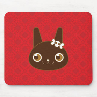 Little Black Bunny Alter Ego Mouse Pad