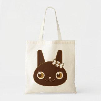 Little Black Bunny Alter Ego Tote Bag