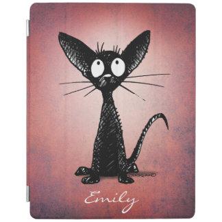 Little Black Cat iPad Cover