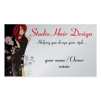 little black dress pack of standard business cards