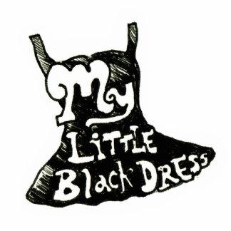 Little Black Dress Photo Sculpture Badge
