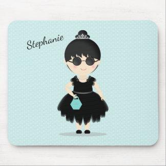 Little Black Dress Soiree Mouse Pad