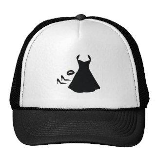 Little Black Trucker Hat