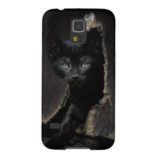 Little Black Kitty Galaxy S5 Covers
