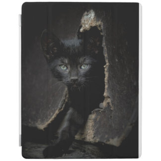 Little Black Kitty iPad Cover