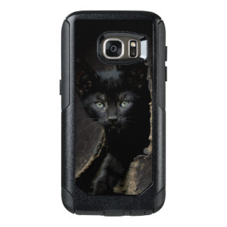 Little Black Kitty OtterBox Samsung Galaxy S7 Case