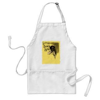 Little Black Lamb Vintage Black Americana Standard Apron