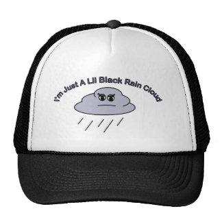 Little Black Rain Cloud Cap