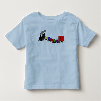 Little Black Train -birthday -t-Shirt Toddler T-Shirt