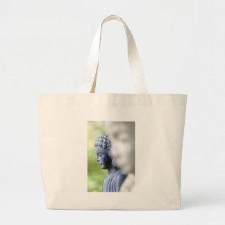 Little Blue Buddha Jumbo Tote Bag
