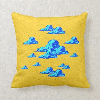Little Blue Clouds Pillow
