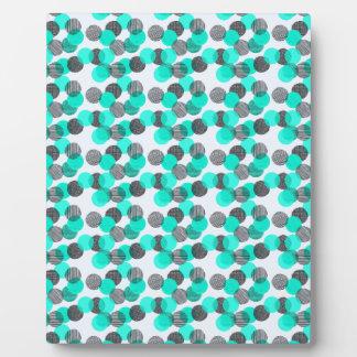 Little Blue Dots Plaque