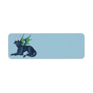 Little Blue Dragon Labels