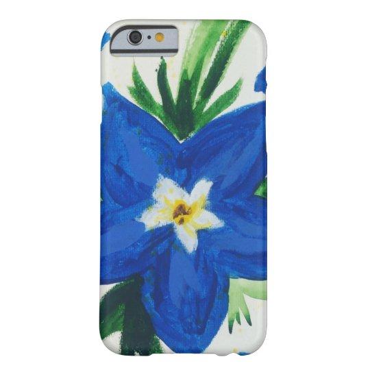Little Blue Flower Case