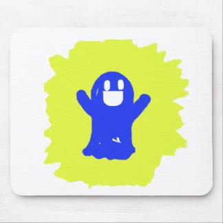 Little blue ghost mousepad