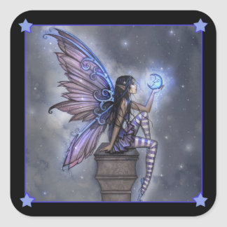 Little Blue Moon Fairy Stickers
