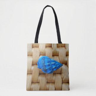 Little Blue Shell Tote Bag