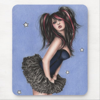 Little blue star Mousepad