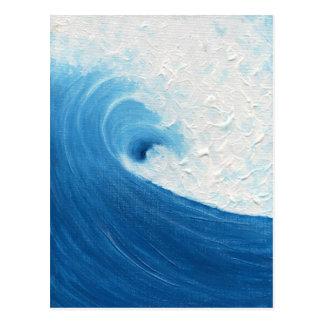 Little Blue Wave Post Card