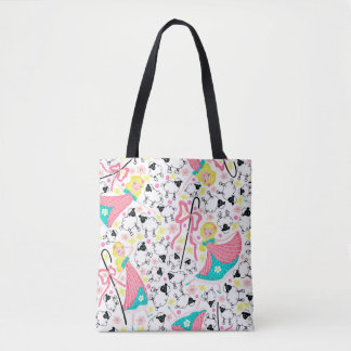 Little Bo Peep all over tote bag