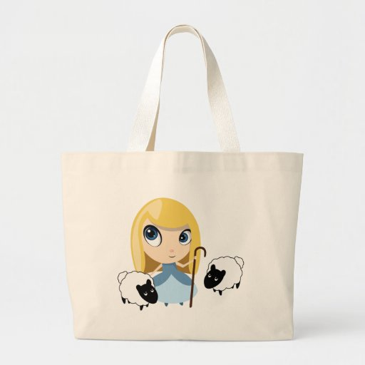 Little Bo Peep and her Sheep Tote Bags