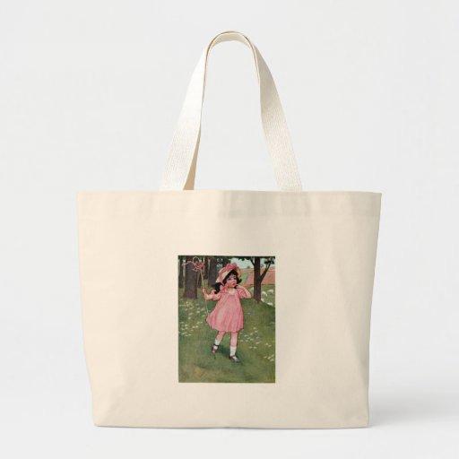 Little Bo-Peep and Missing Sheep Nursery Rhyme Tote Bags