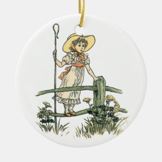 Little Bo Peep Christmas Ornament