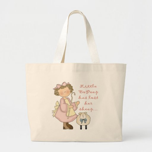 Little Bo Peep Has Lost Her Sheep Tote Bag