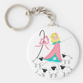 Little Bo Peep Keychain