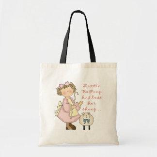 Little Bo Peep Kids Gift Budget Tote Bag