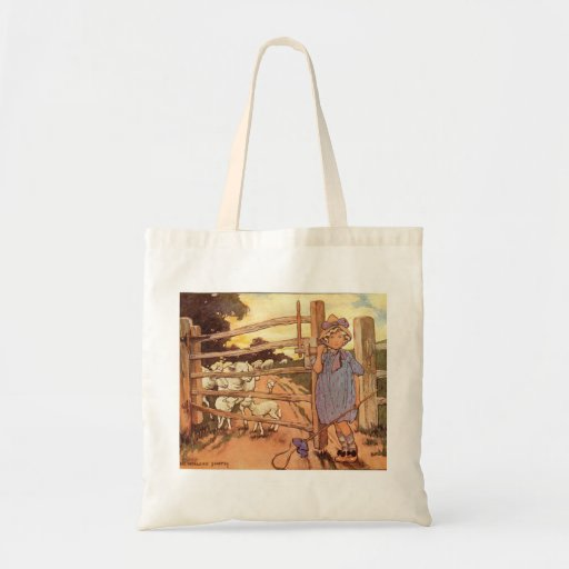 Little Bo-Peep Nursery Rhyme Bag