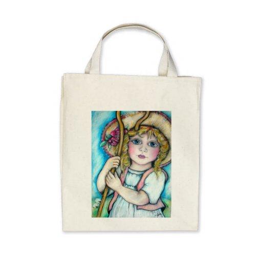 Little Bo Peep Rhyme Time Fun Tote Bags