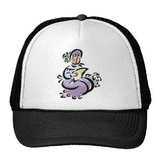 Little Bo Peep Sheep Mesh Hats