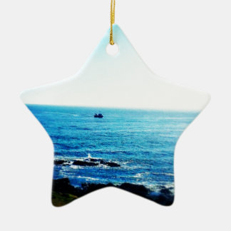 Little Boat Christmas Ornament