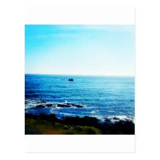Little Boat Postcard
