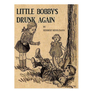 little bobby postcard