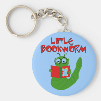 Little Bookworm Tshirts and Gifts Key Chain