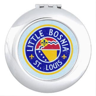 Little Bosnia St. Louis Compact Travel Mirrors
