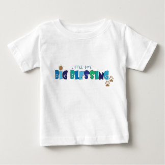 Little Boy, Big Blessing Christian baby t-shirt