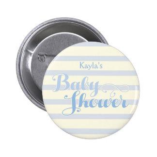 Little Boy Blue Baby Shower, 6 Cm Round Badge