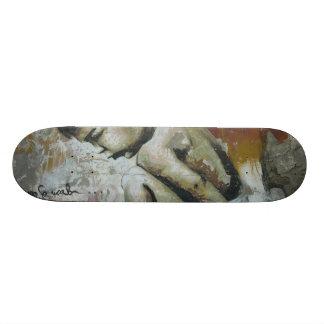 Little Boy Graffiti 19.7 Cm Skateboard Deck