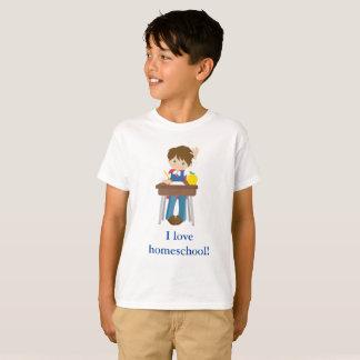 Little boy I love homeschool! T-Shirt