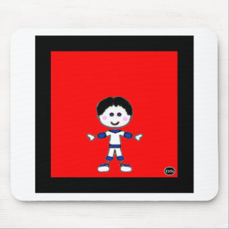 Little Boy Stick Family Collection Mouse Pad